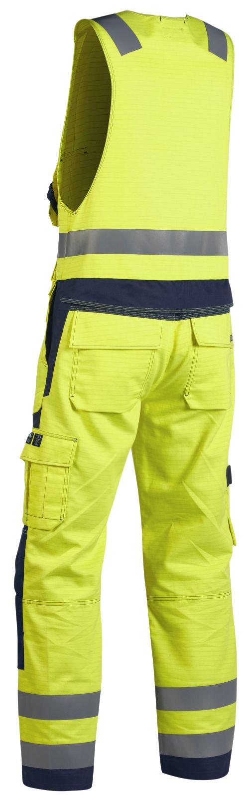 Blaklader Bodybroeken 26781506 Multinorm geel-marineblauw(3389)