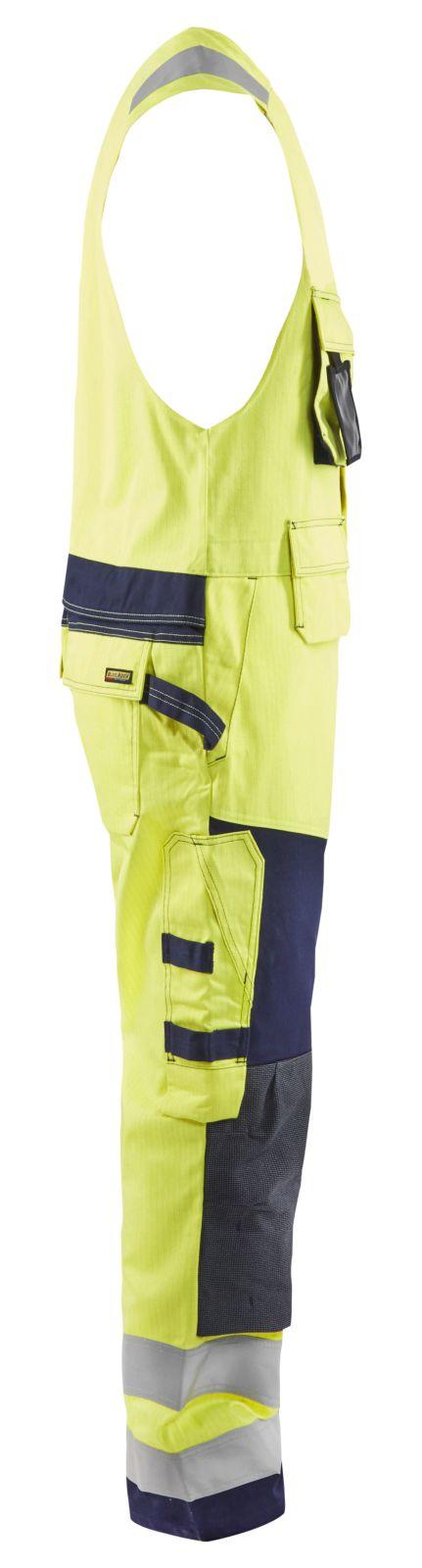 Blaklader Bodybroeken 26781514 Multinorm geel-marineblauw(3389)