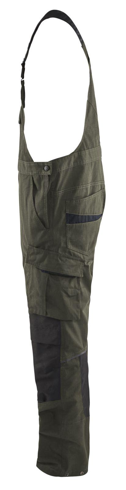 Blaklader Amerikaanse overalls 26951330 met Stretch groen-zwart(4599)