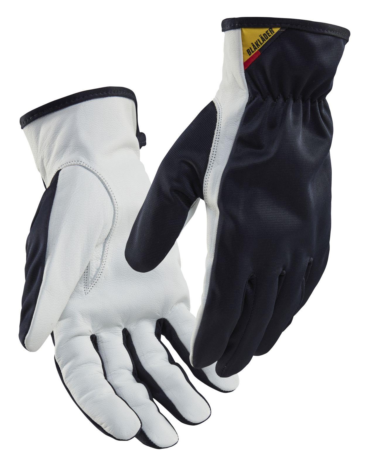 Blaklader Handschoenen 28021459 donker marineblauw-wit(8610)