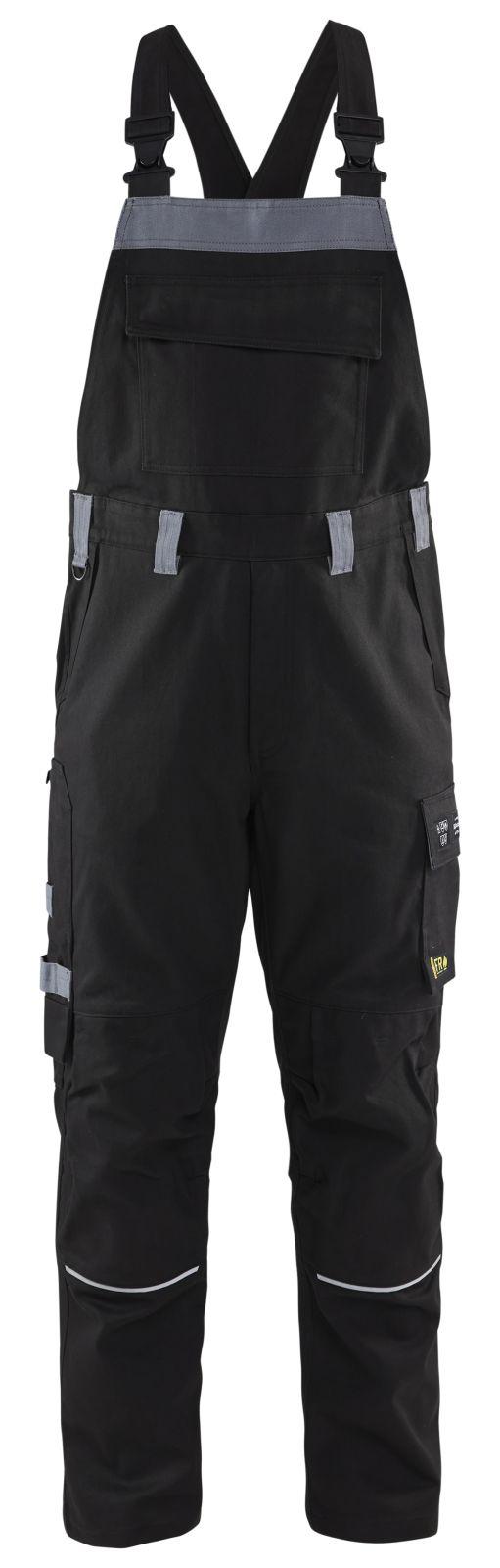 Blaklader Amerikaanse overalls 28611516 Vlamvertragend zwart-grijs(9994)