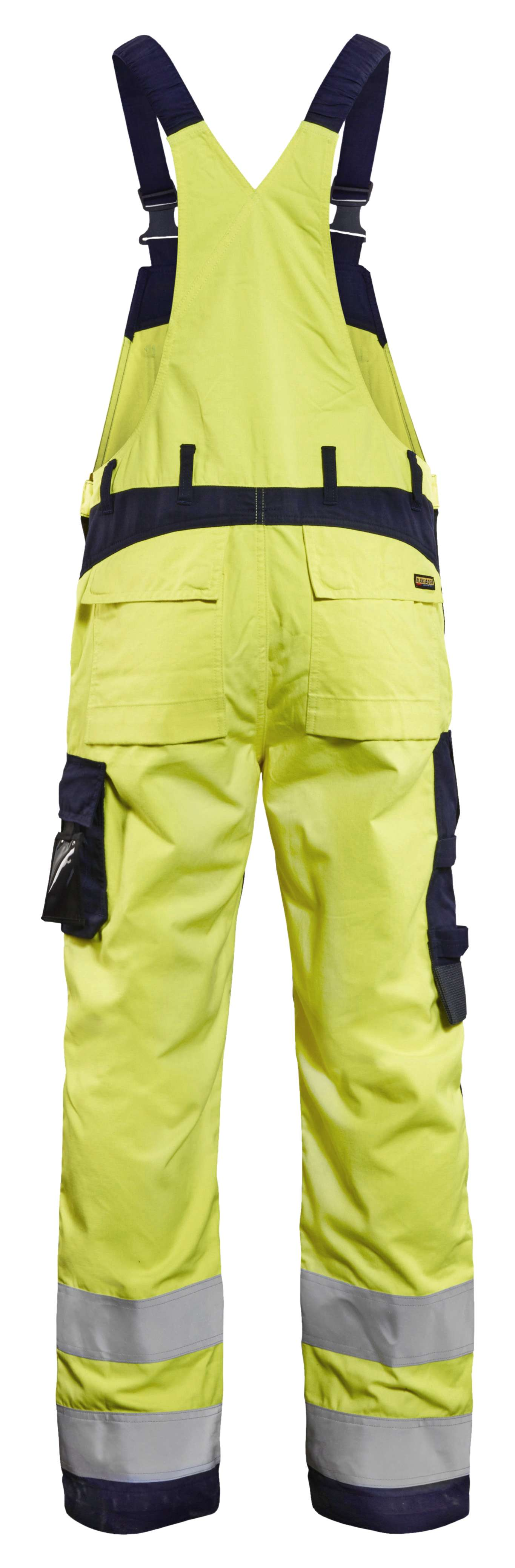 Blaklader Am. Overalls 28891512 Multinorm geel-marineblauw(3389)