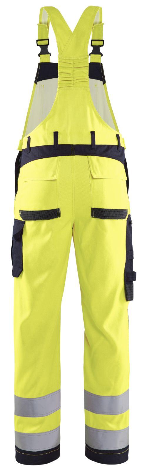 Blaklader Amerikaanse overalls 28891512 Multinorm geel-marineblauw(3389)