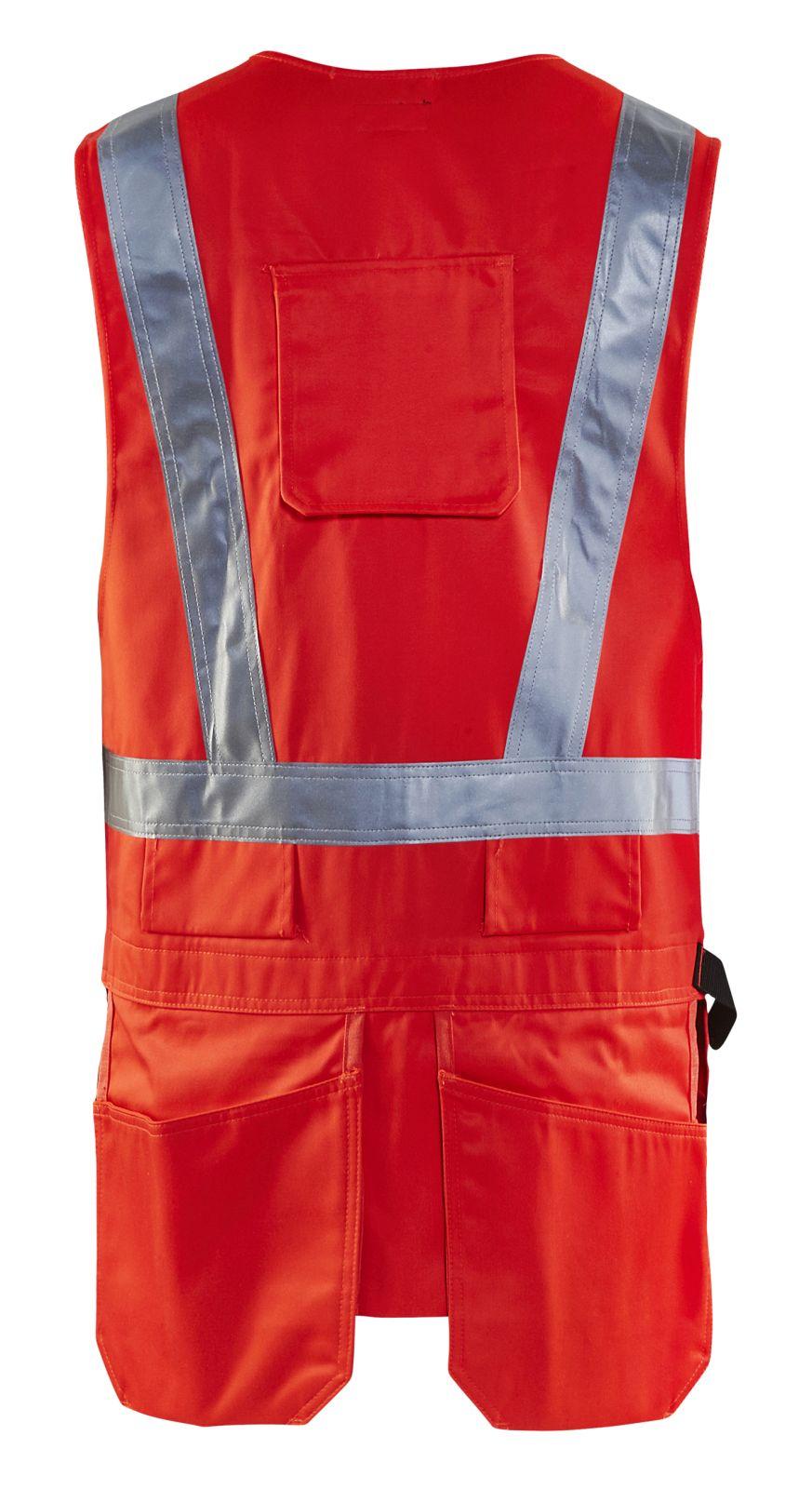 Blaklader Vesten 30271804 High Vis fluo-rood(5500)