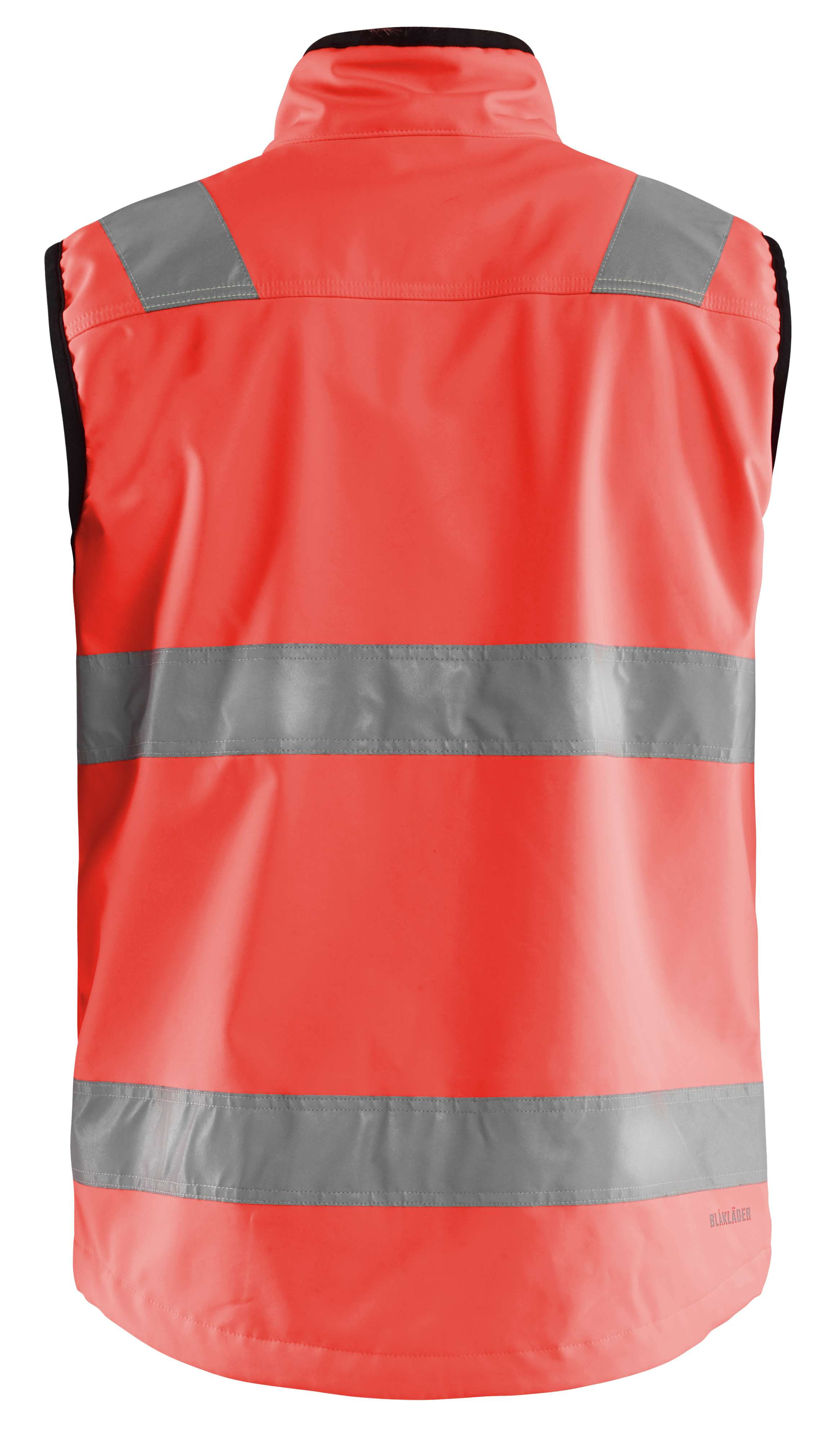 Blaklader Softshell jacks 30492517 High Vis fluo-rood(5500)