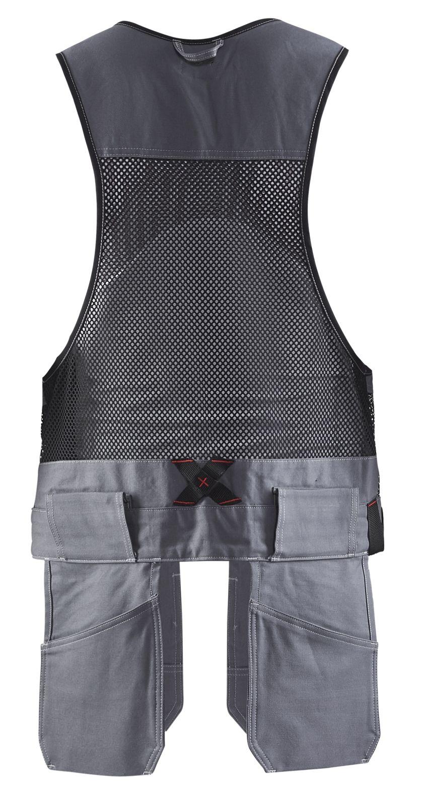 Blaklader Vesten 31001370 grijs-zwart(9499)