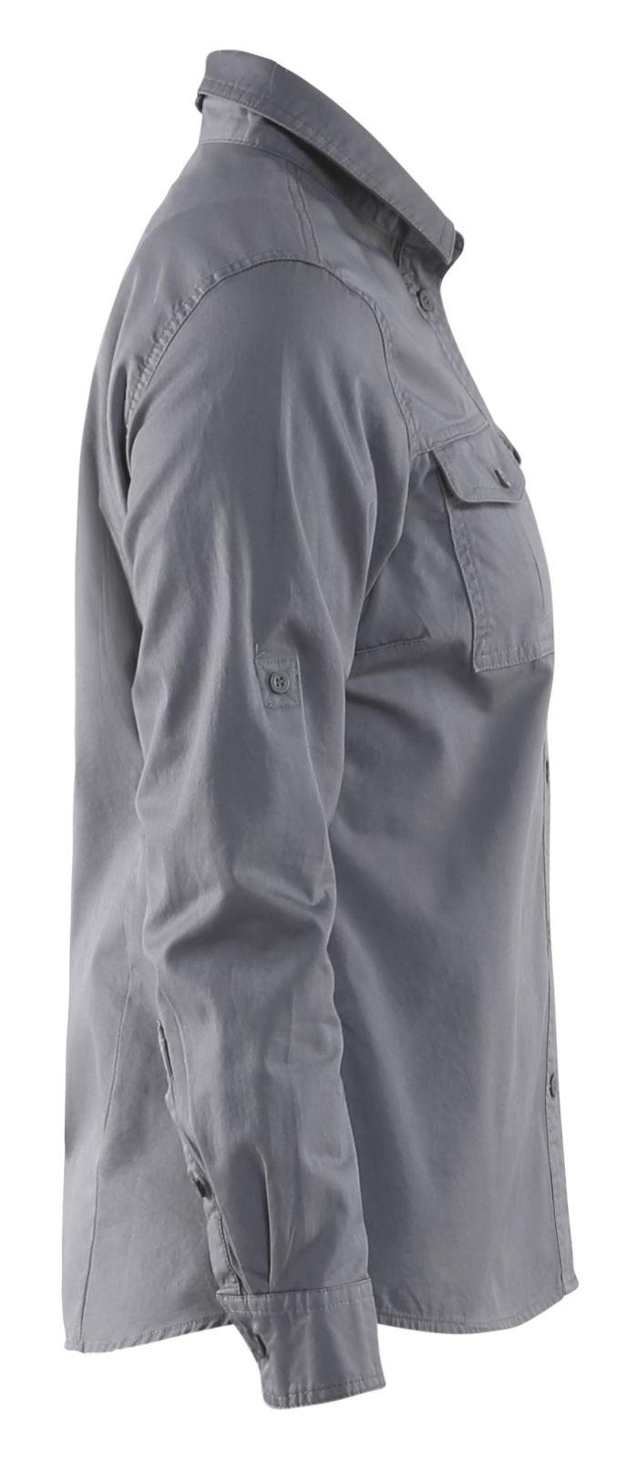 Blaklader Dames overhemden 32081135 grijs(9400)