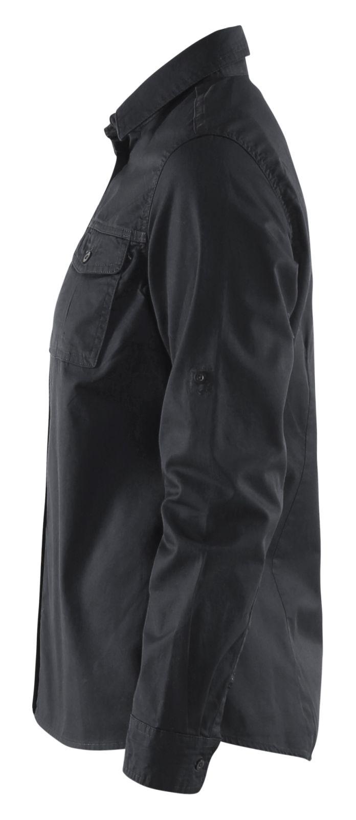 Blaklader Dames overhemden 32081135 zwart(9900)