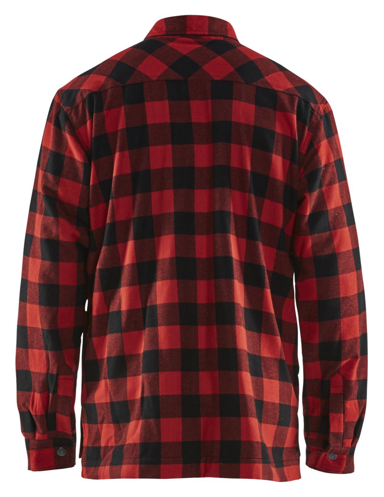 Blaklader Shirts 32251131 rood-zwart(5699)
