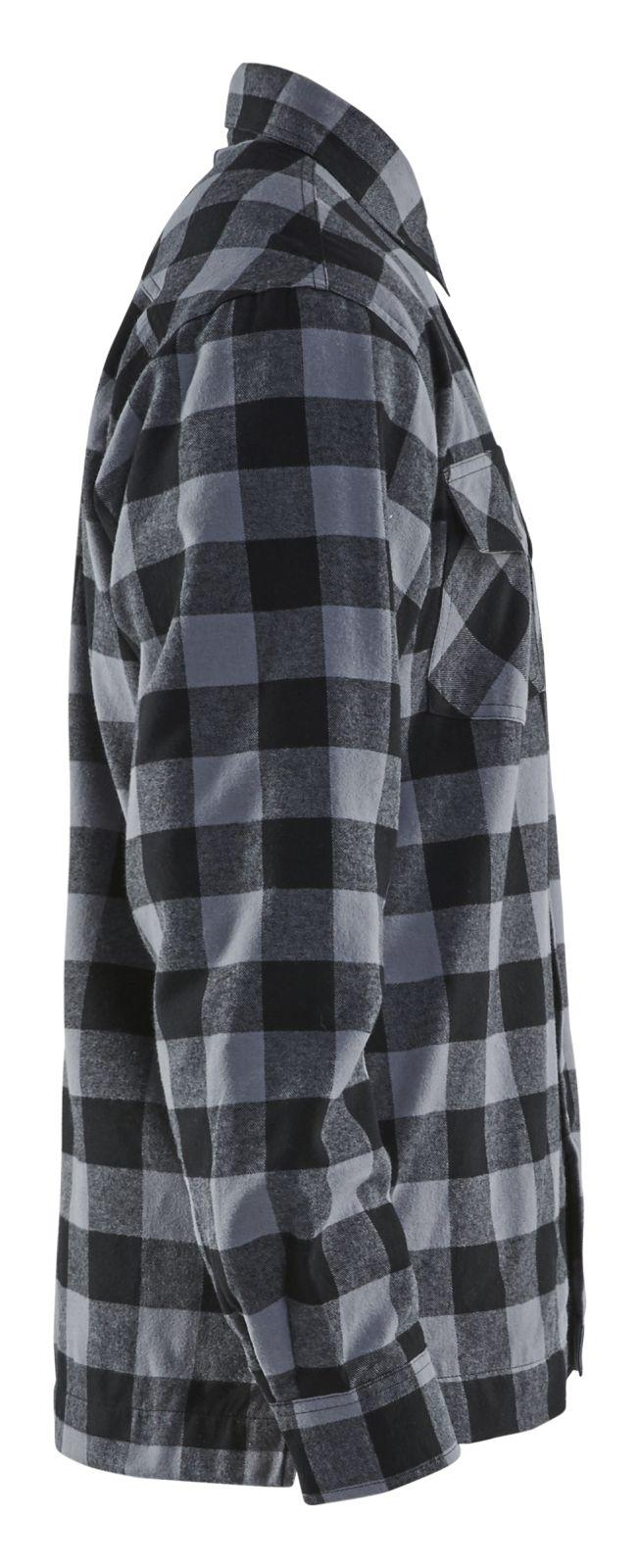 Blaklader Overhemden 32251131 donkergrijs-zwart(9799)