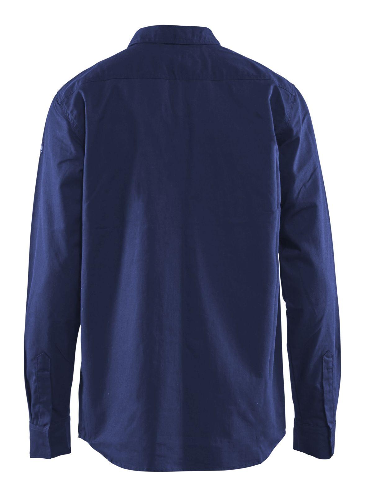 Blaklader Overhemden 32261504 Vlamvertragend marineblauw(8900)
