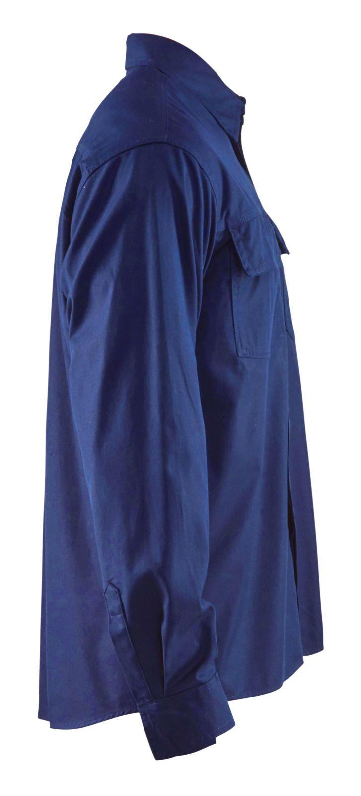 Blaklader Overhemden 32271515 Vlamvertragend marineblauw(8900)