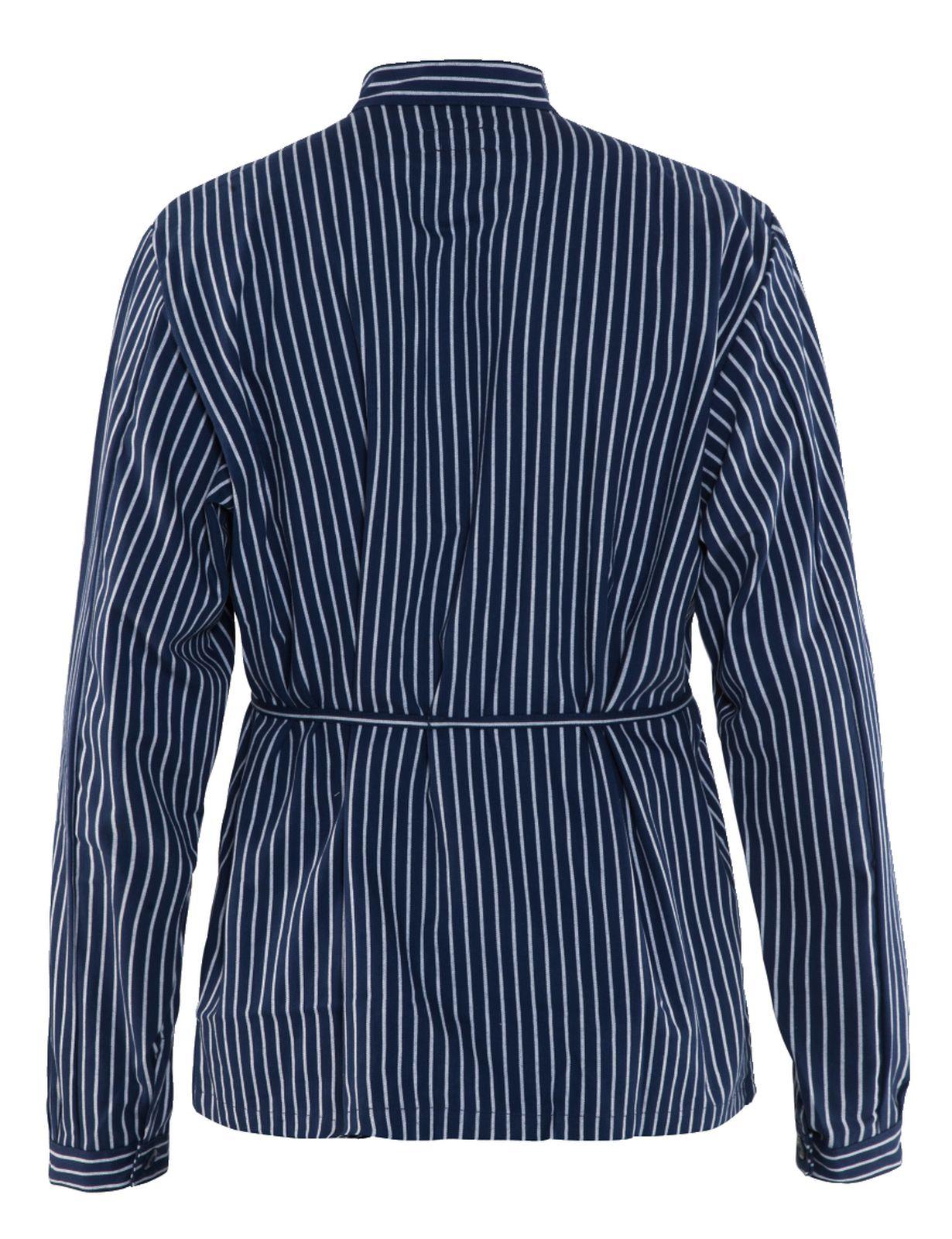 Blaklader Shirts 32501125 marineblauw-wit(8810)