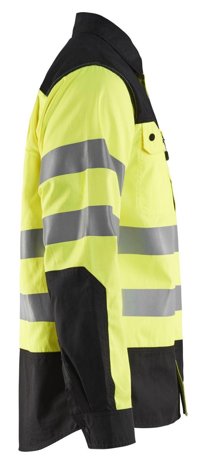Blaklader Shirts 32551817 fluo geel-zwart(3399)