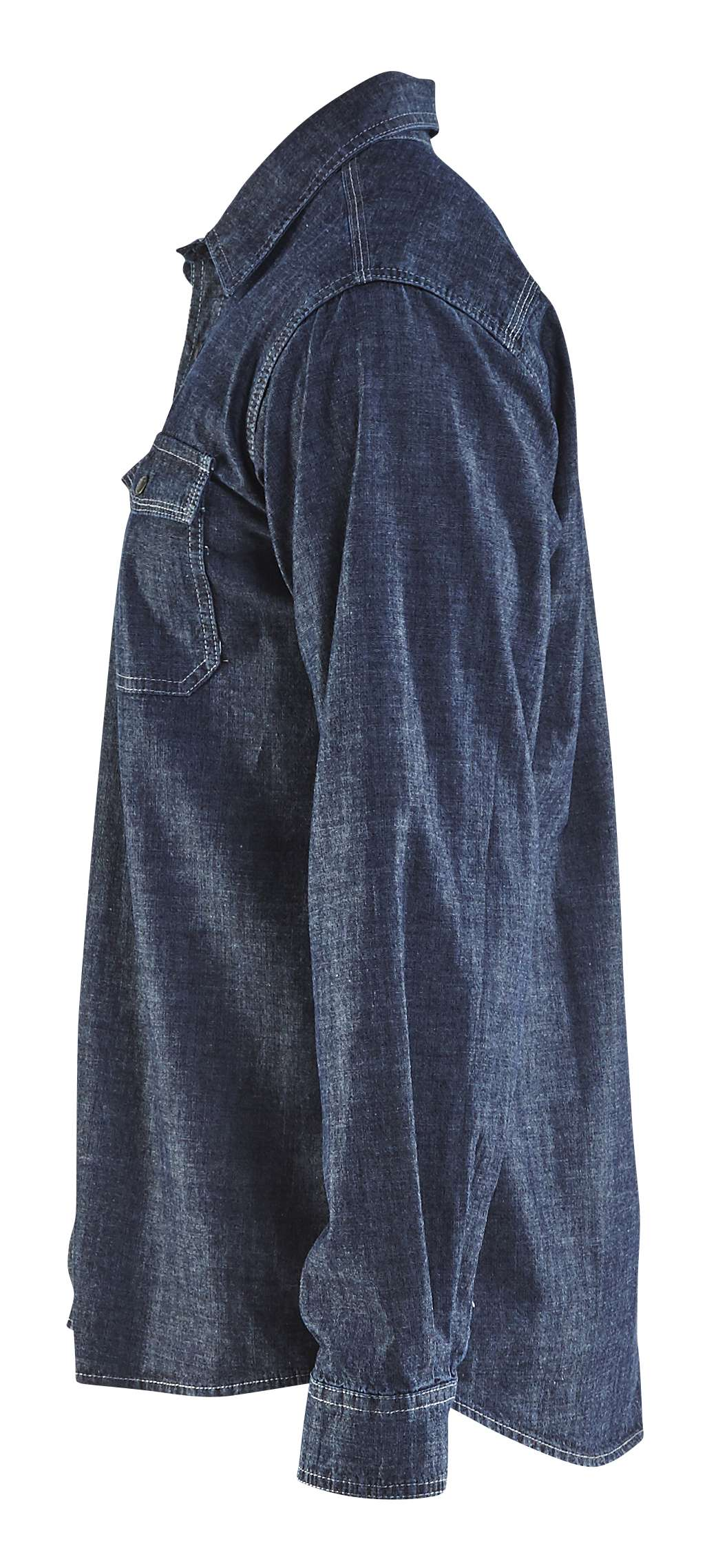 Blaklader Overhemden 32951129 marineblauw(8900)