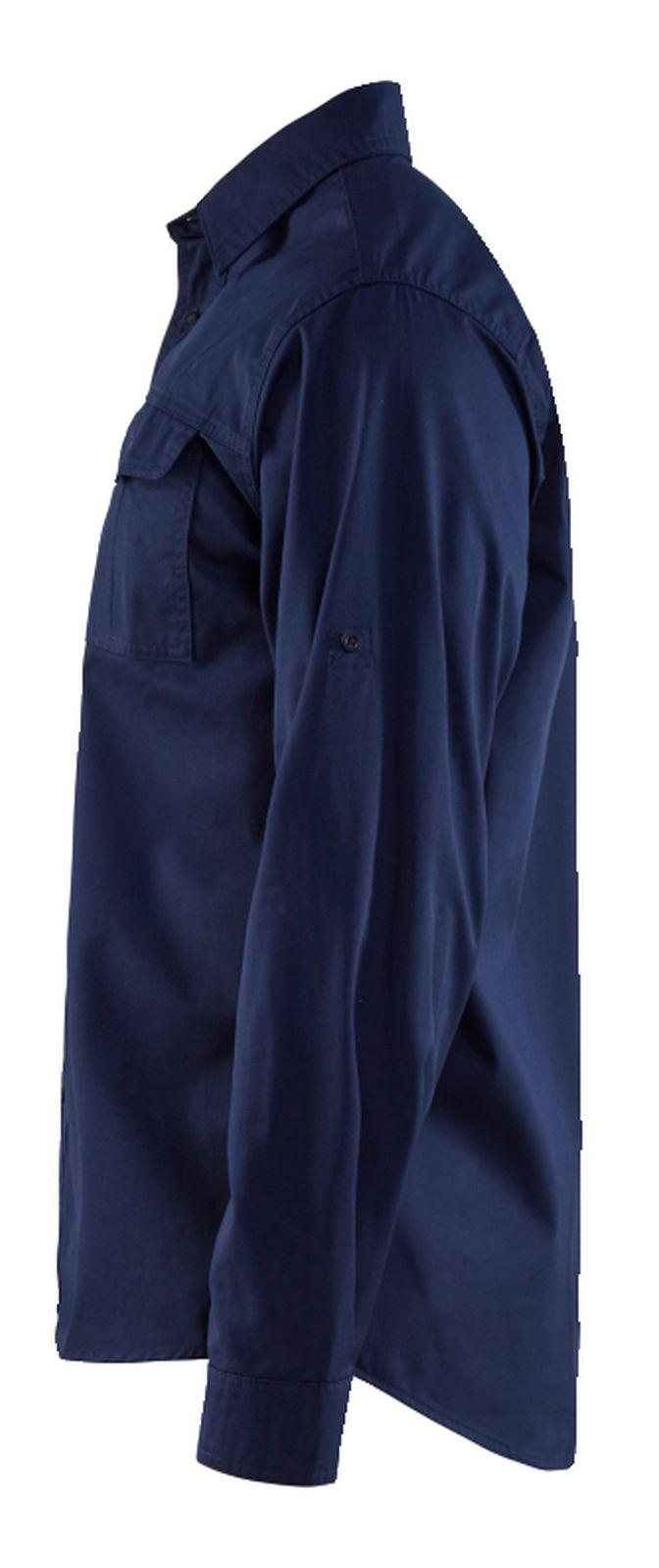 Blaklader Overhemden 32981190 marineblauw(8900)