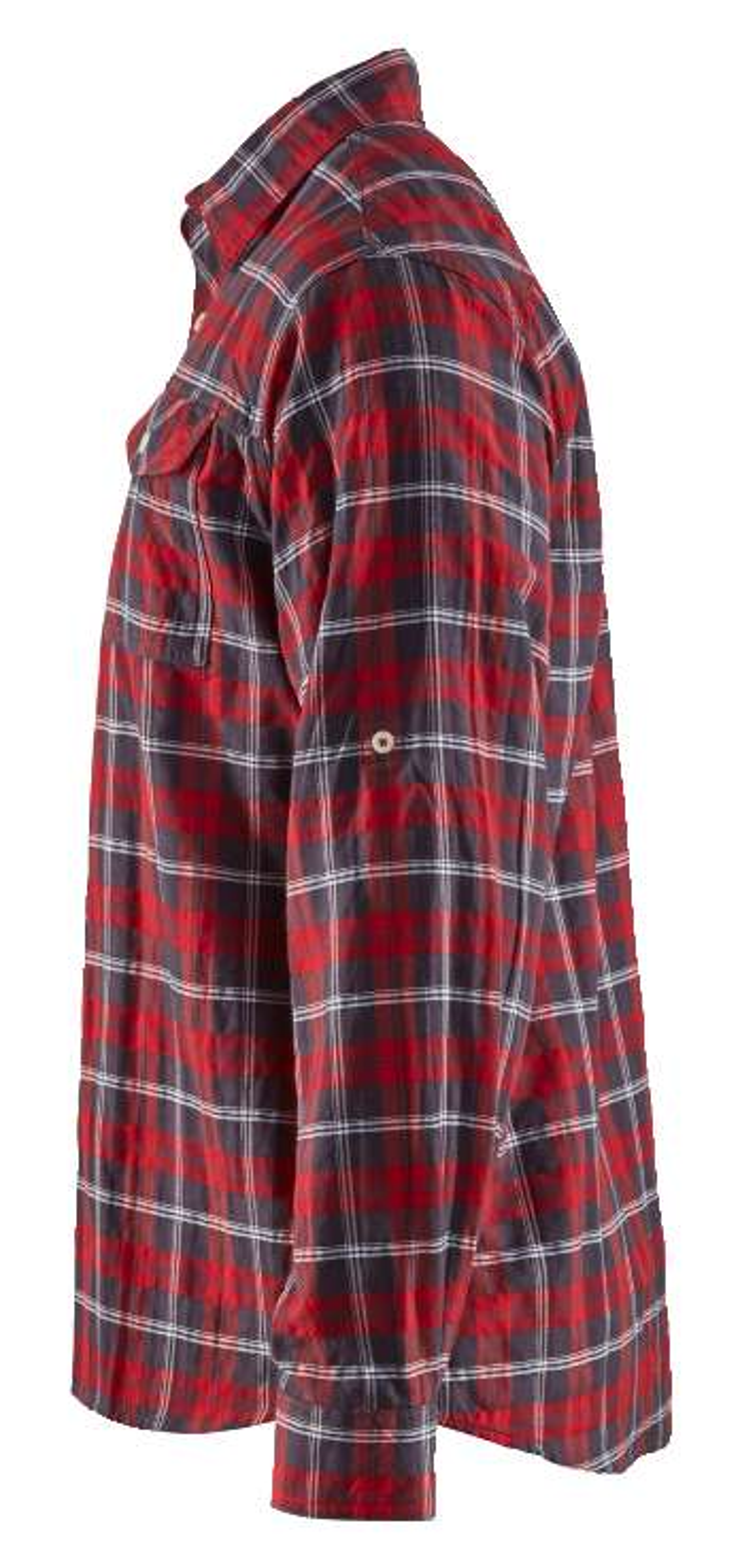 Blaklader Shirts 32991138 rood-marineblauw(5689)