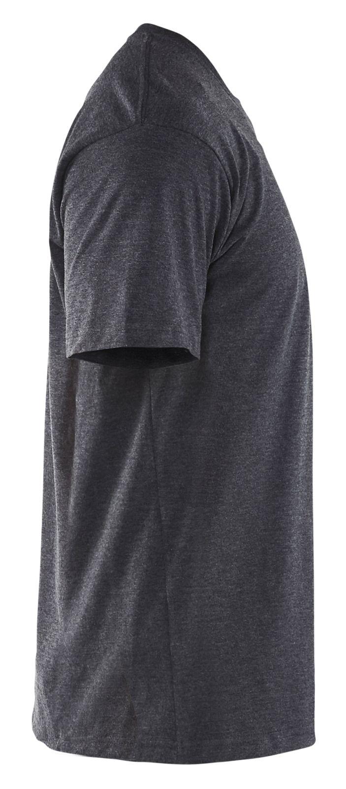 Blaklader T-shirts 33001025 zwart melee(9991)