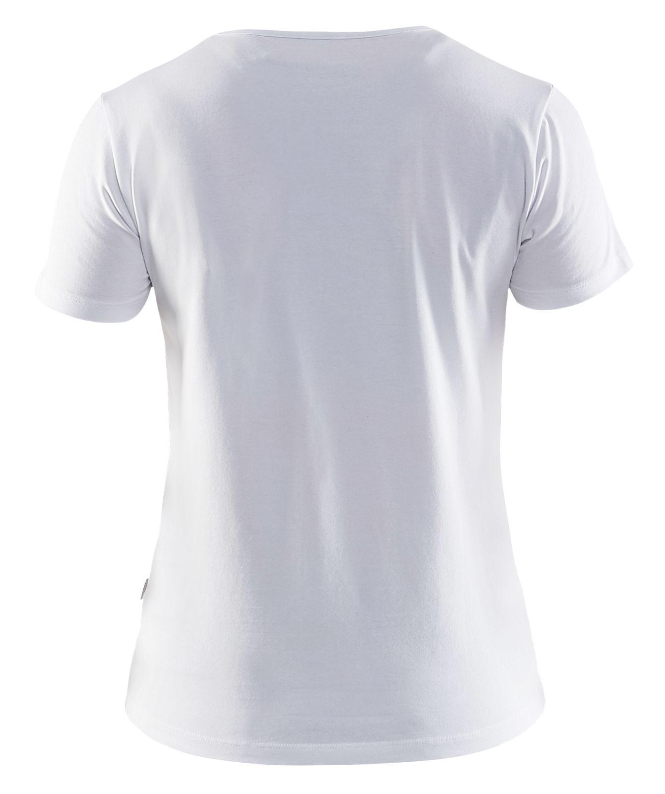 Blaklader Dames T-shirts 33041031 wit(1000)
