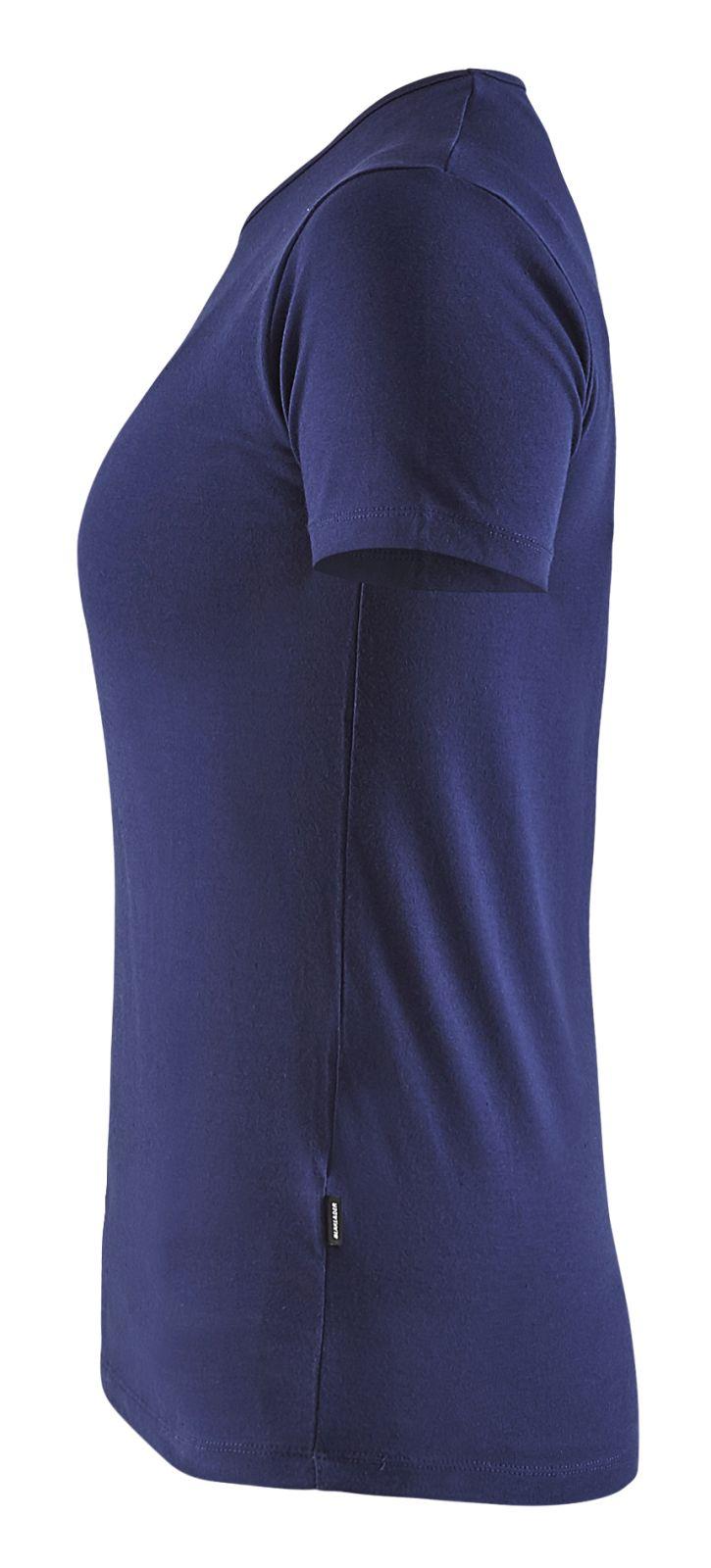 Blaklader Dames T-shirts 33041031 marineblauw(8800)