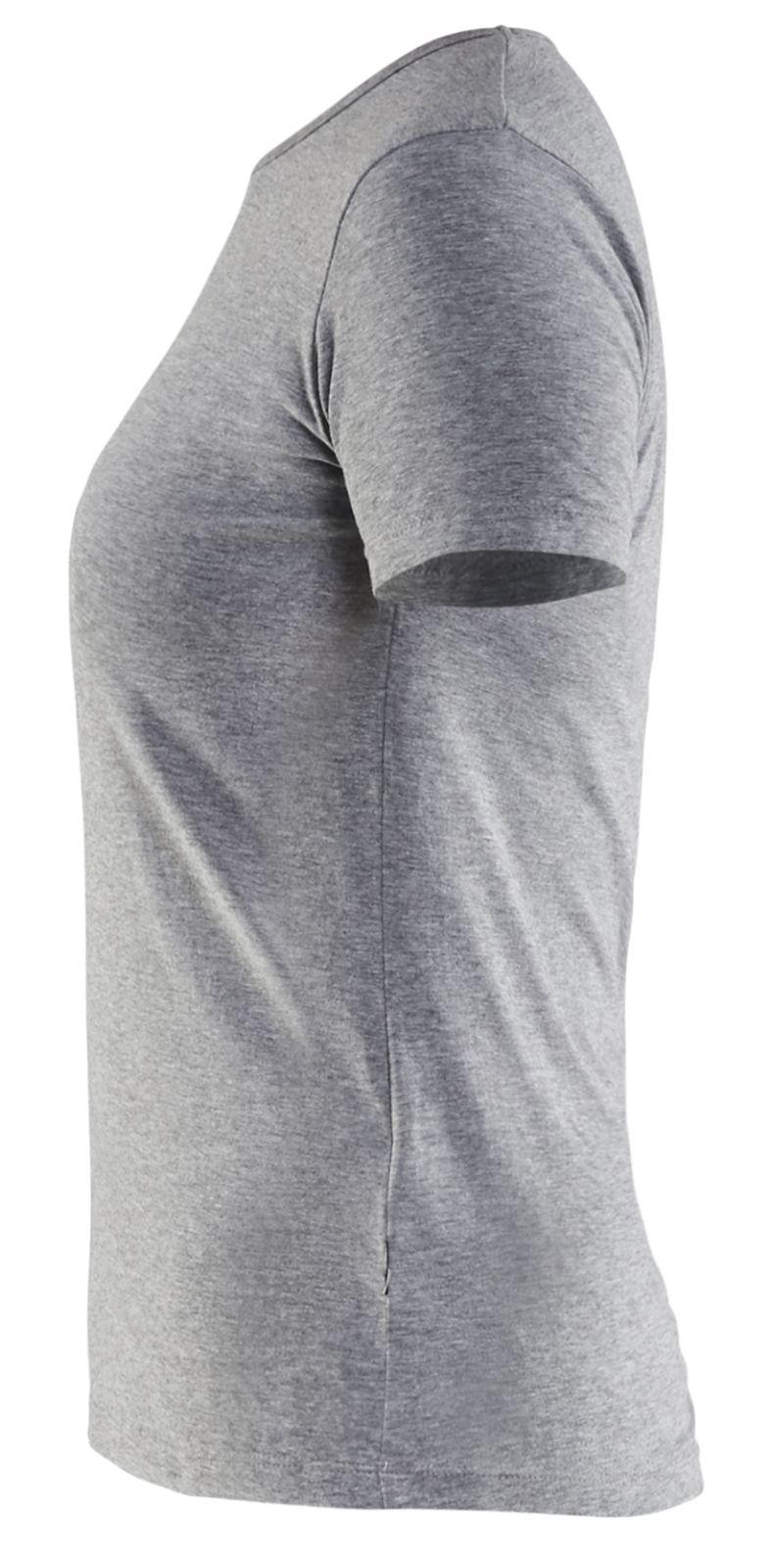 Blaklader Dames T-shirts 33041059 grijs melee(9000)