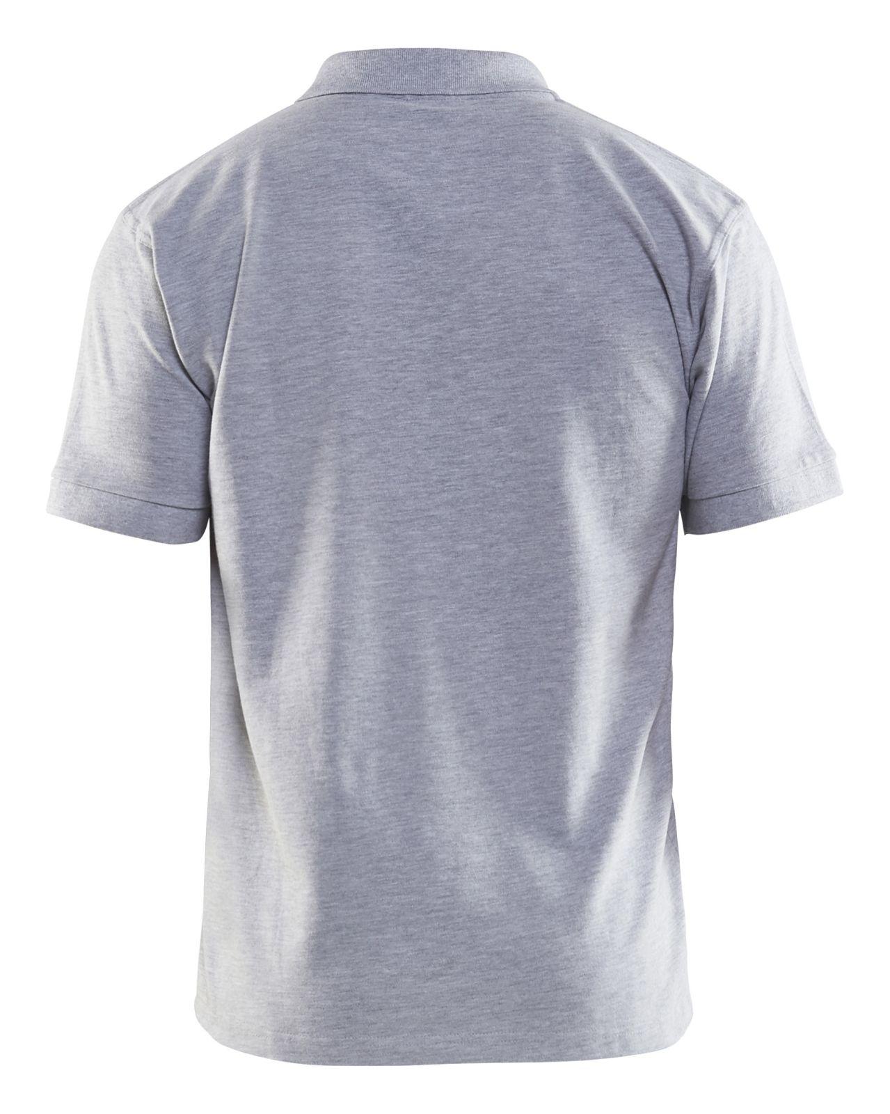 Blaklader Polo shirts 33051035 grijsmelee(9000)