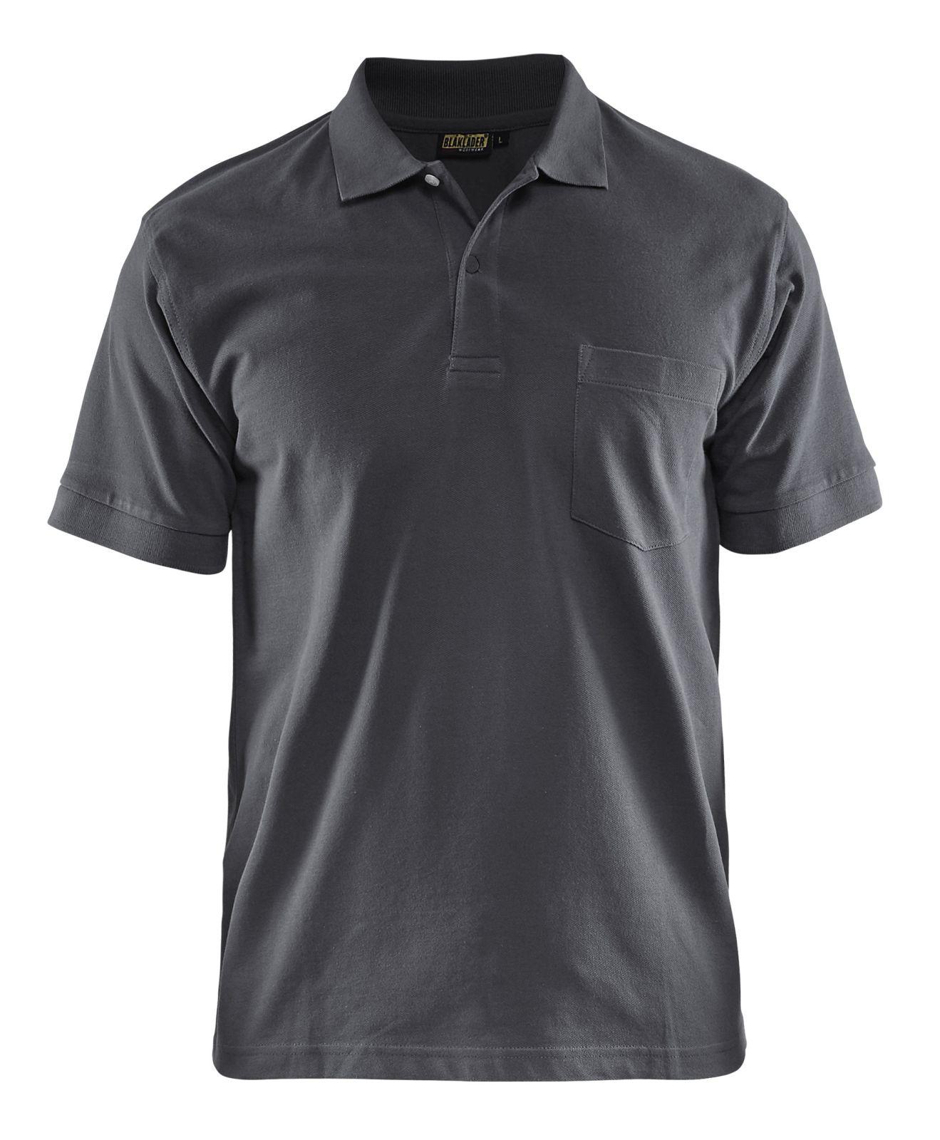 Blaklader Polo shirts 33051035 donkergrijs(9800)