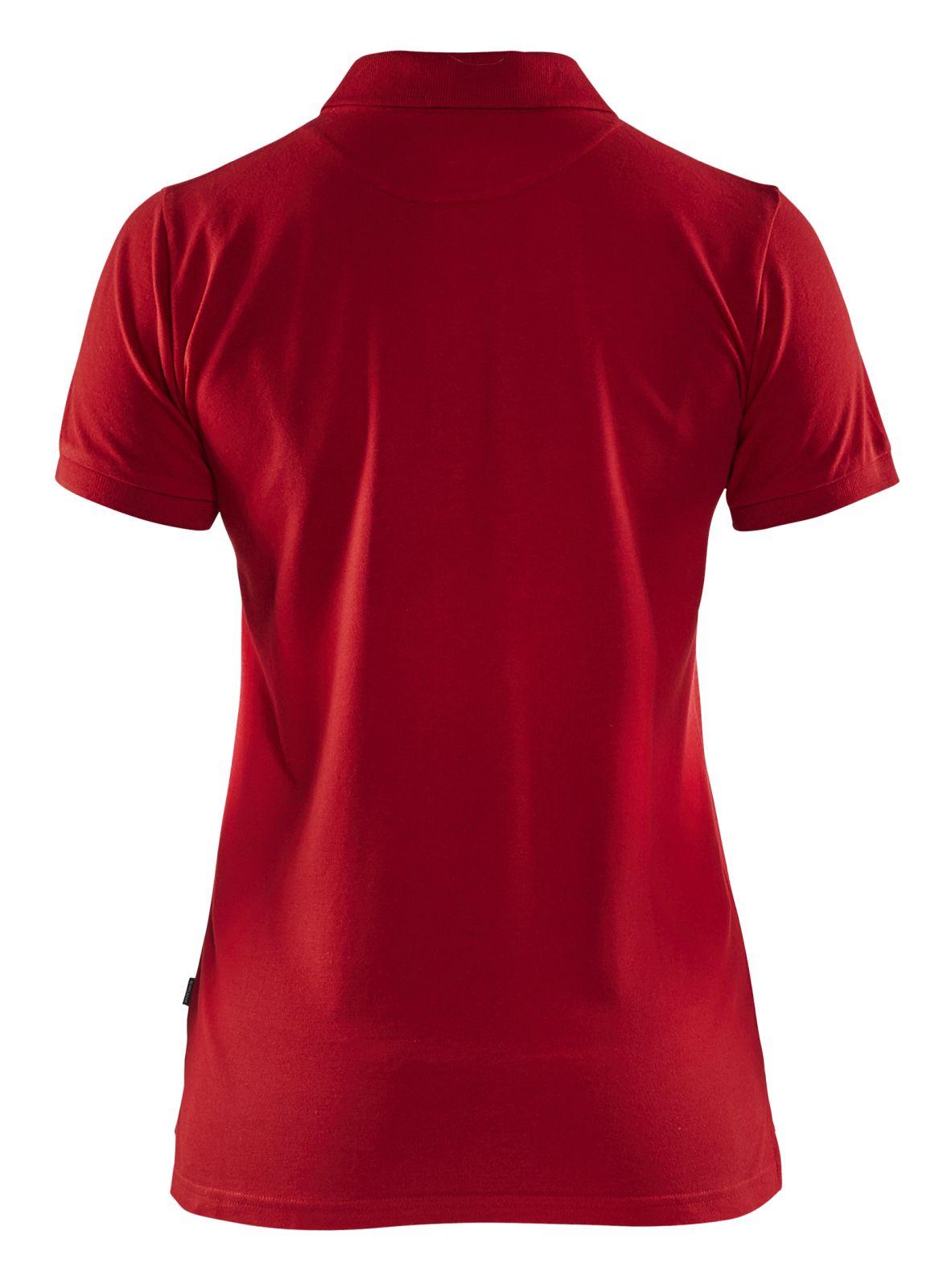 Blaklader Dames polo shirts 33071035 rood(5600)