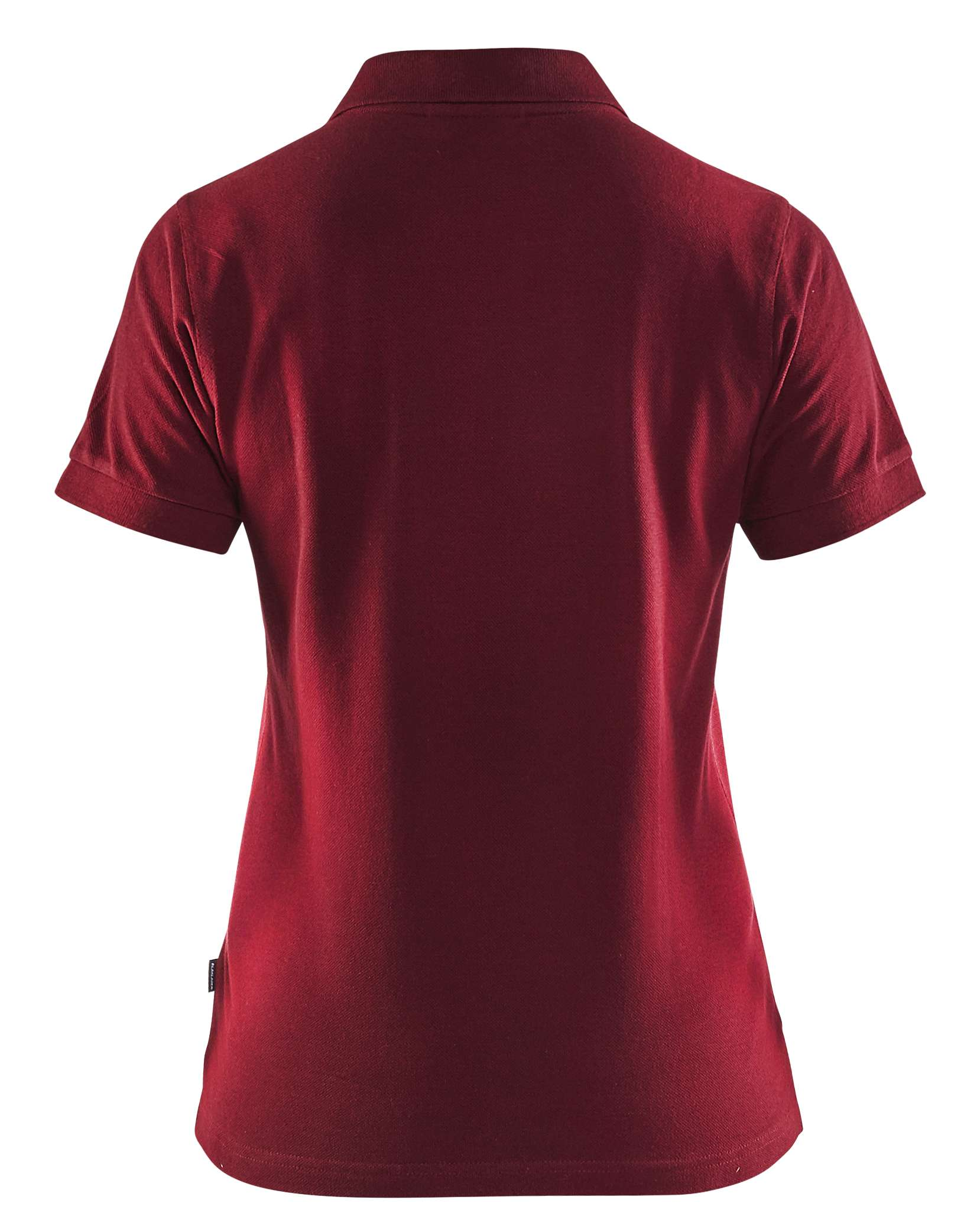 Blaklader Dames polo shirts 33071035 bordeauxrood(5700)