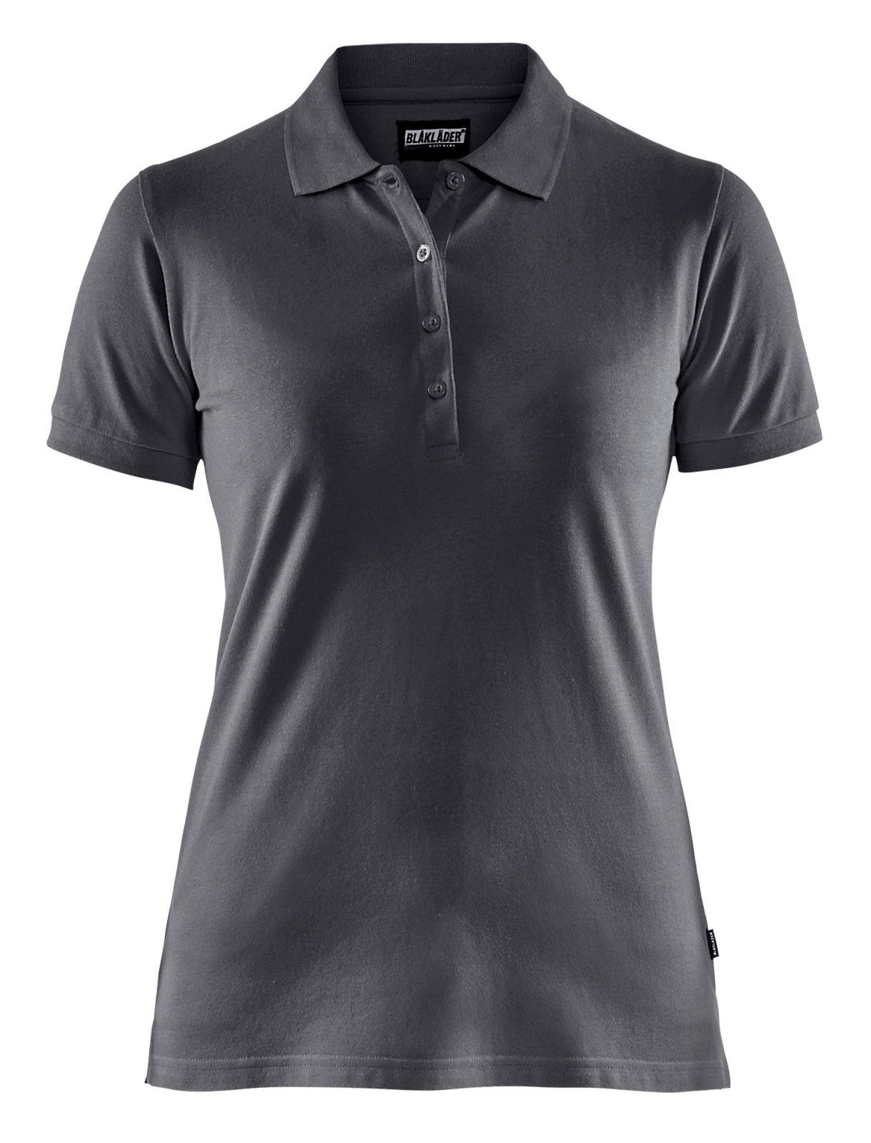 Blaklader Dames polo shirts 33071035 donkergrijs(9800)
