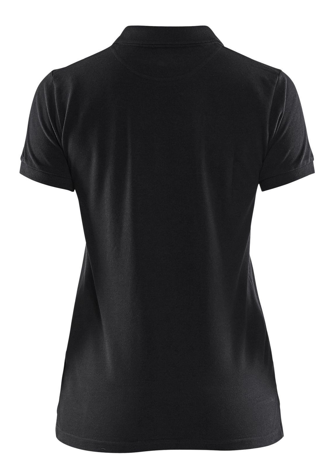 Blaklader Dames polo shirts 33071035 zwart(9900)