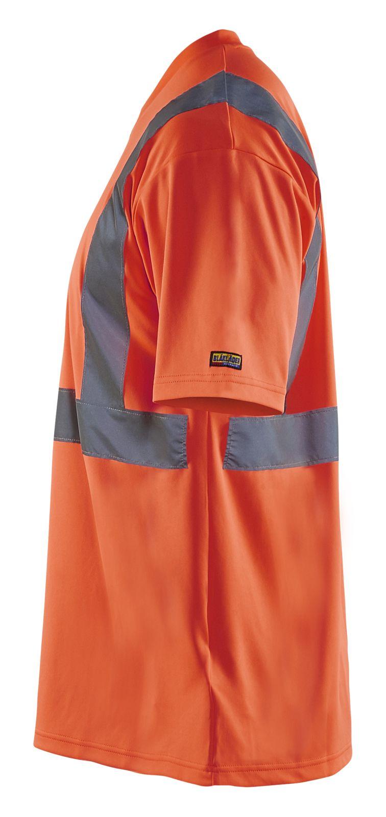 Blaklader T-shirts 33131009 High Vis fluo-rood(5500)