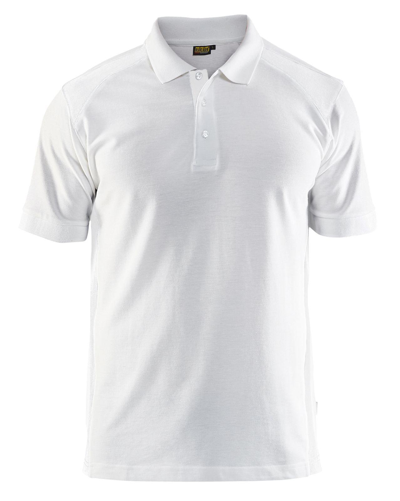 Blaklader Poloshirts 33241050 wit(1000)