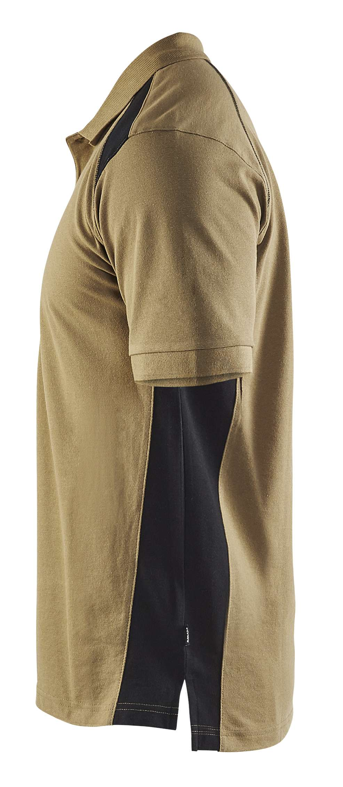 Blaklader Poloshirts 33241050 khaki-zwart(2499)