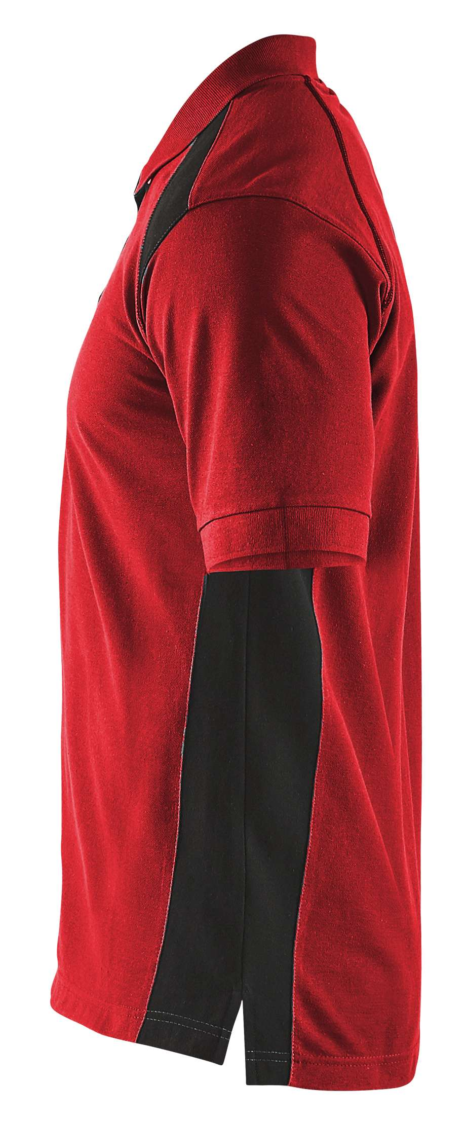Blaklader Poloshirts 33241050 rood-zwart(5699)