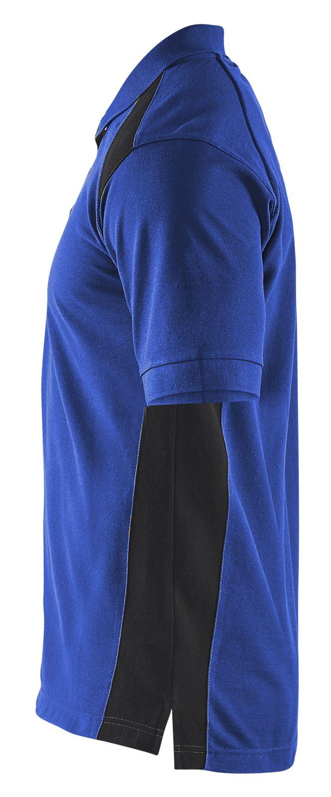 Blaklader Poloshirts 33241050 korenblauw-zwart(8599)