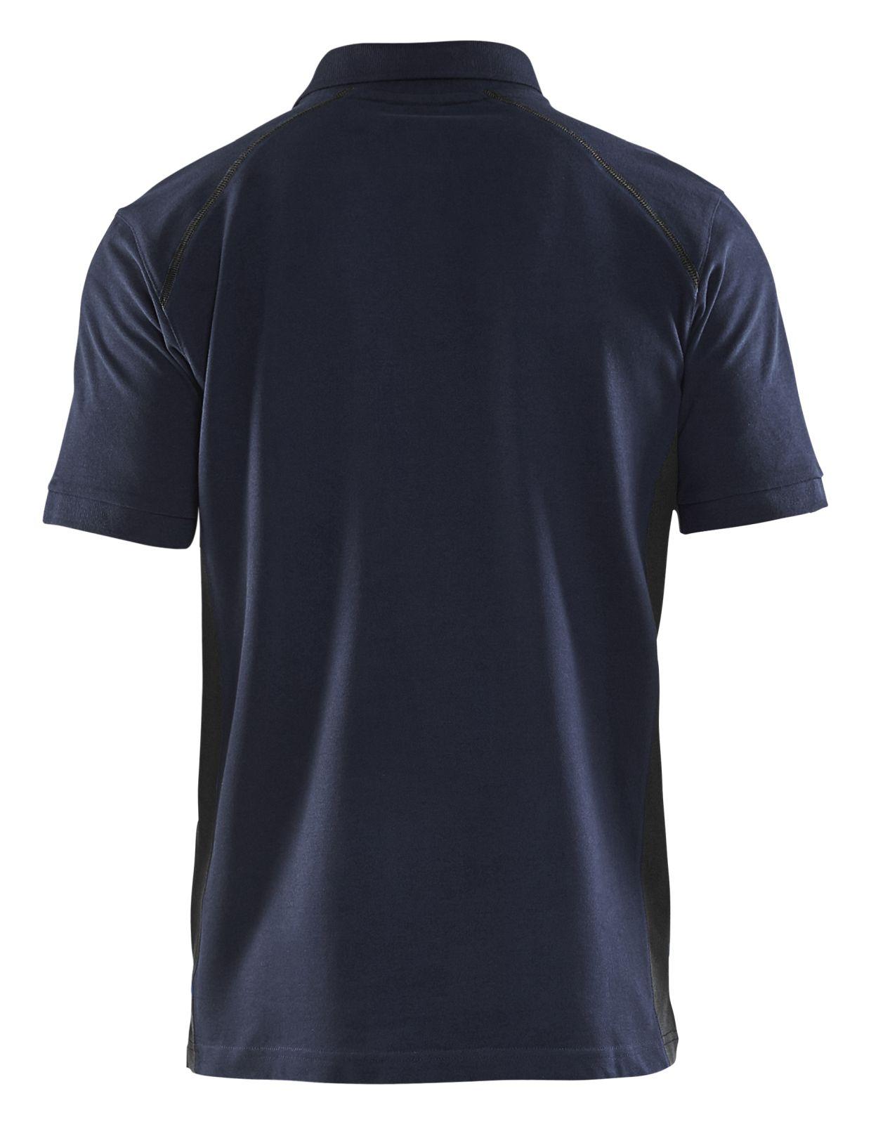 Blaklader Poloshirts 33241050 donker marineblauw-zwart(8699)
