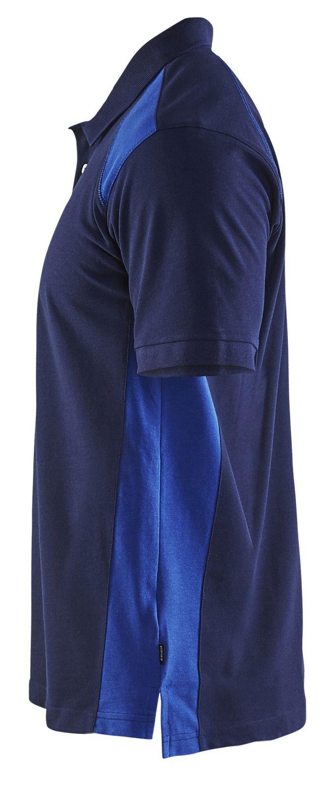 Blaklader Polo shirts 33241050 marineblauw-korenblauw(8985)