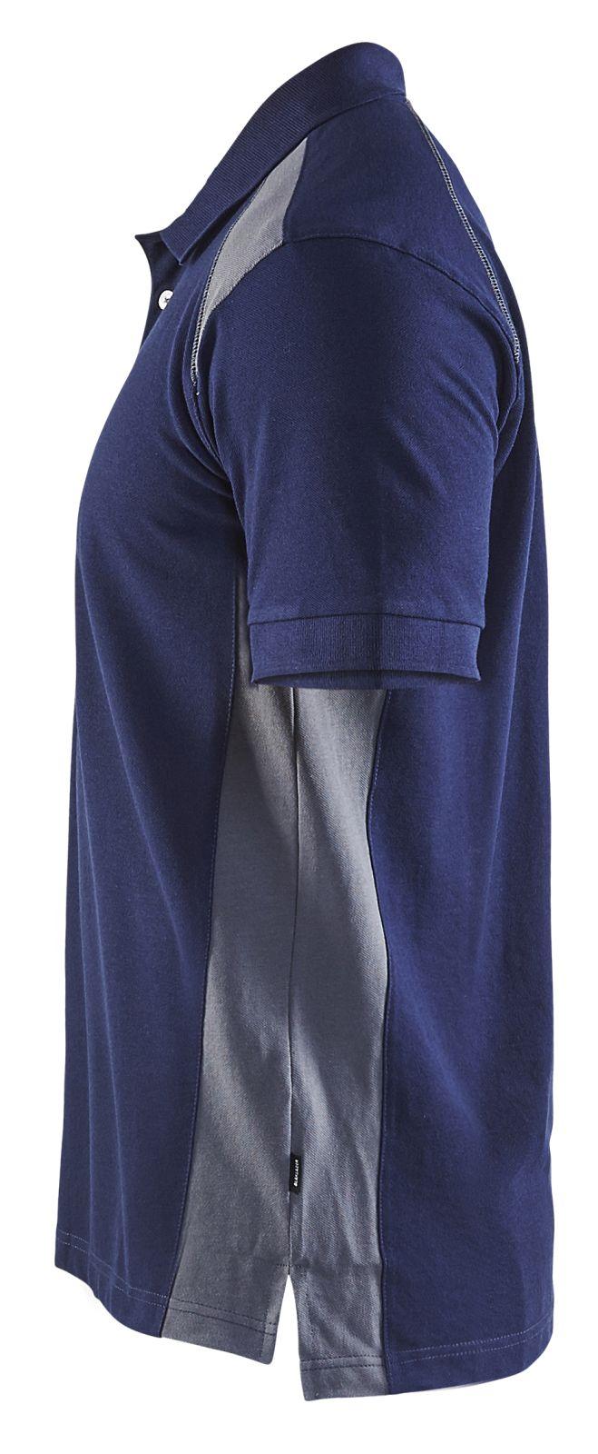 Blaklader Polo shirts 33241050 marineblauw-grijs(8994)