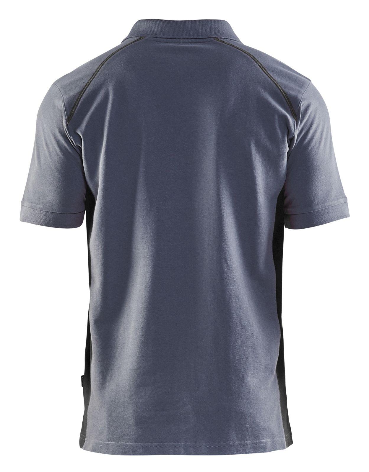 Blaklader Polo shirts 33241050 grijs-zwart(9499)