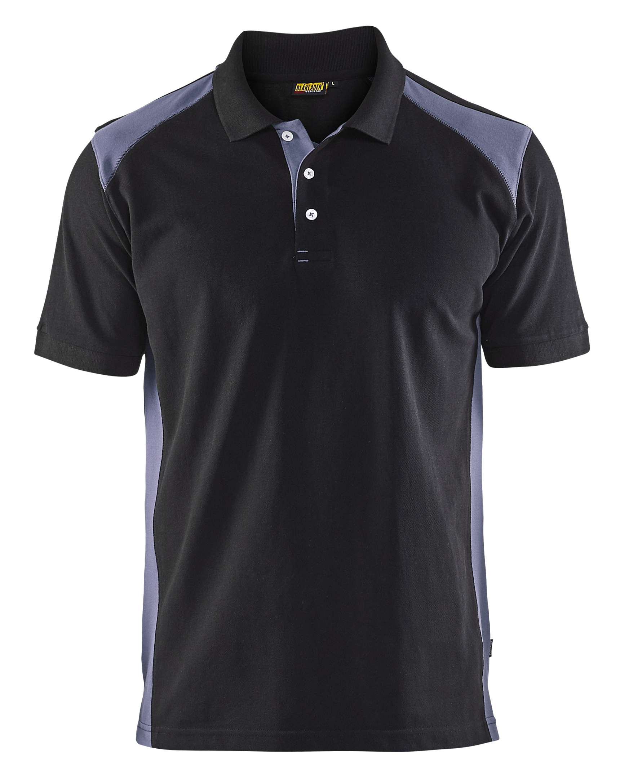 Blaklader Polo shirts 33241050 zwart-grijs(9994)