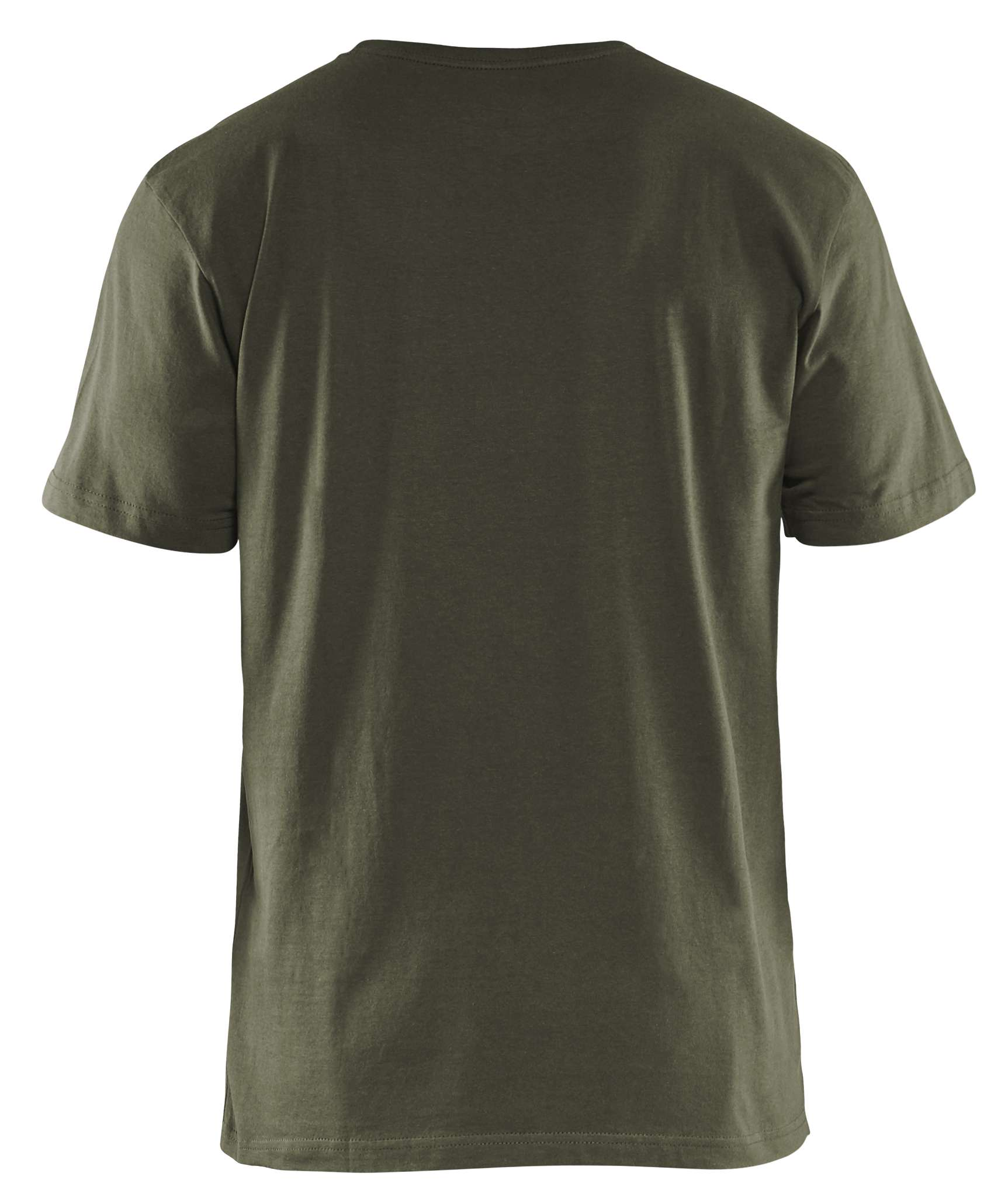 Blaklader T-shirts 33251042 5-pack army groen(4600)