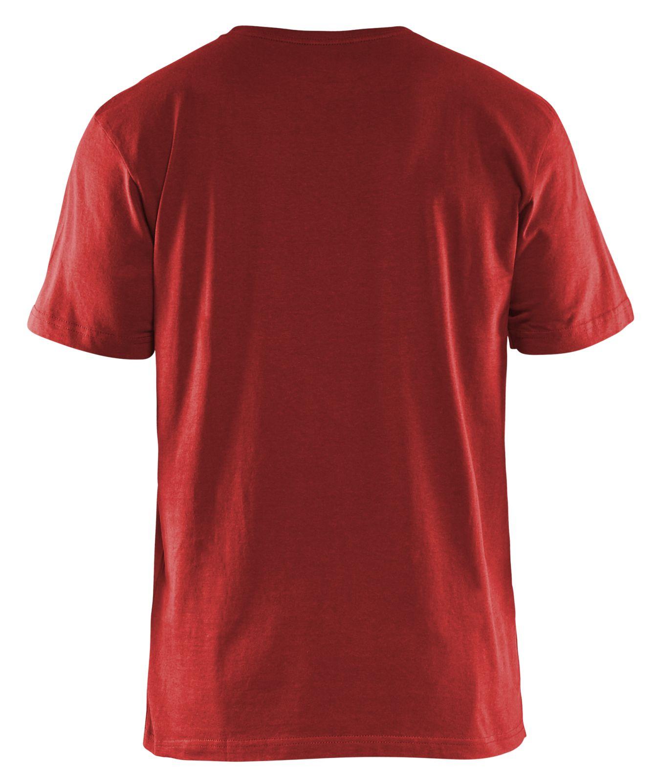 Blaklader T-shirts 33251042 5-pack rood(5600)
