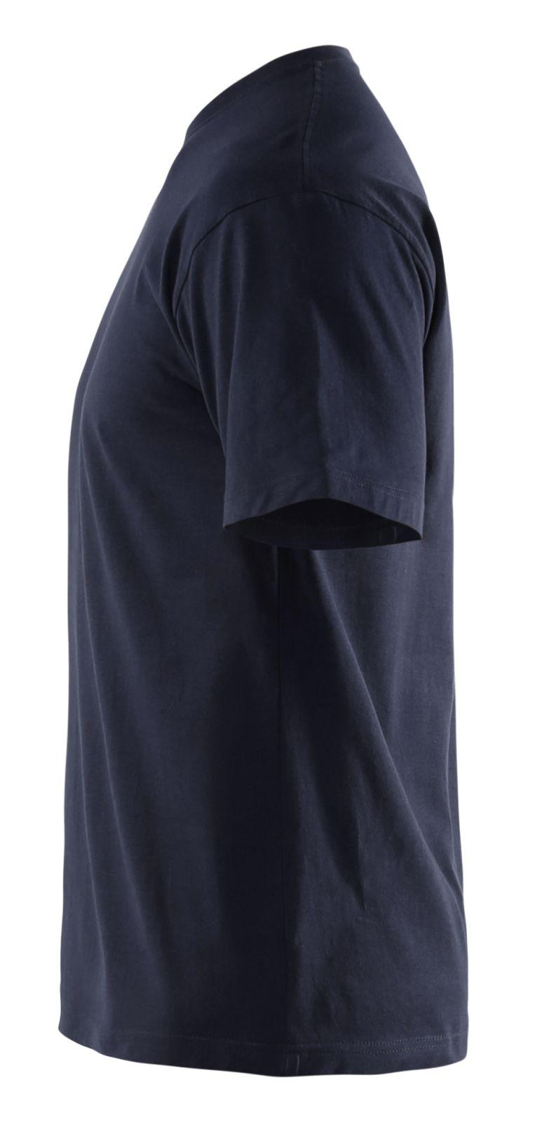 Blaklader T-shirts 33251042 5-pack marineblauw(8600)