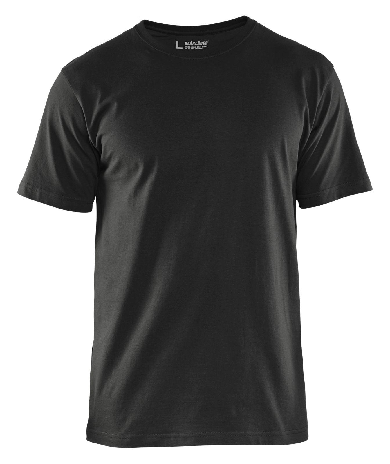 Blaklader T-shirts 33251042 5-pack zwart(9900)