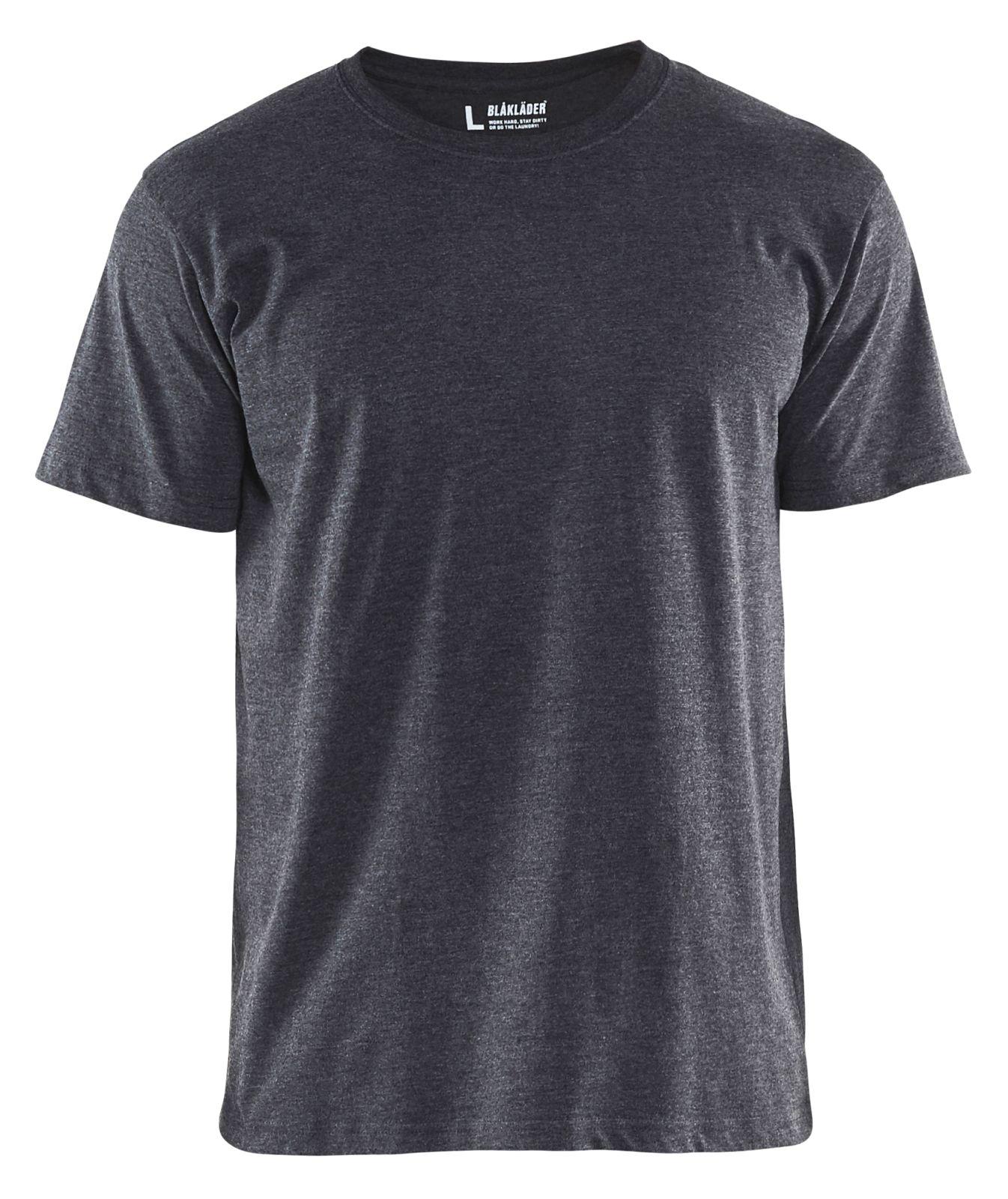 Blaklader T-shirts 33251053 5-pack zwart melee(9991)