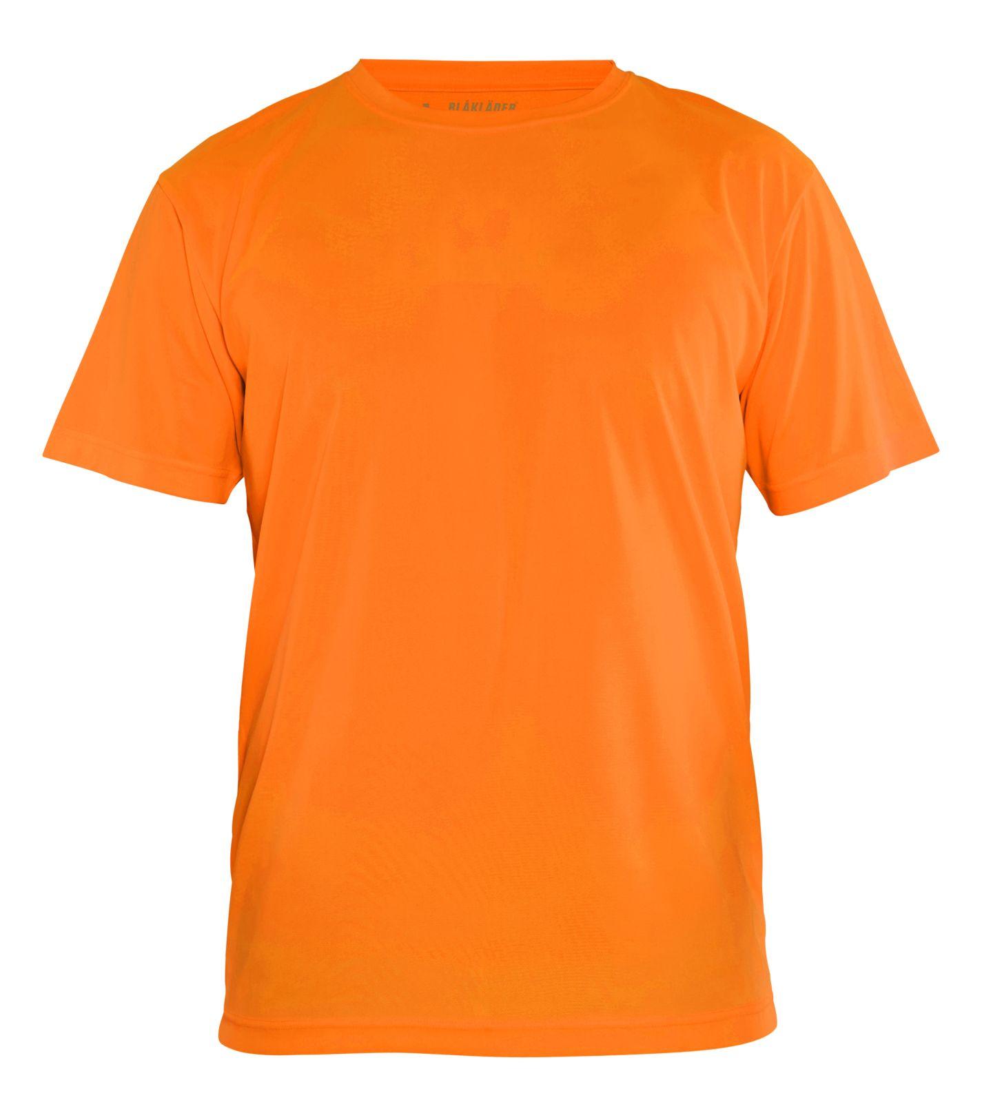 Blaklader T-shirts 33311011 UPF40+ UV oranje(5300)