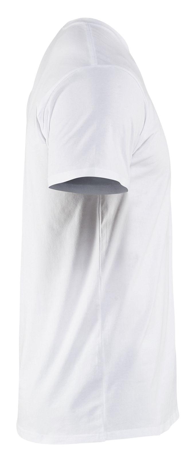 Blaklader T-shirts 33331029 2-pack wit(1000)