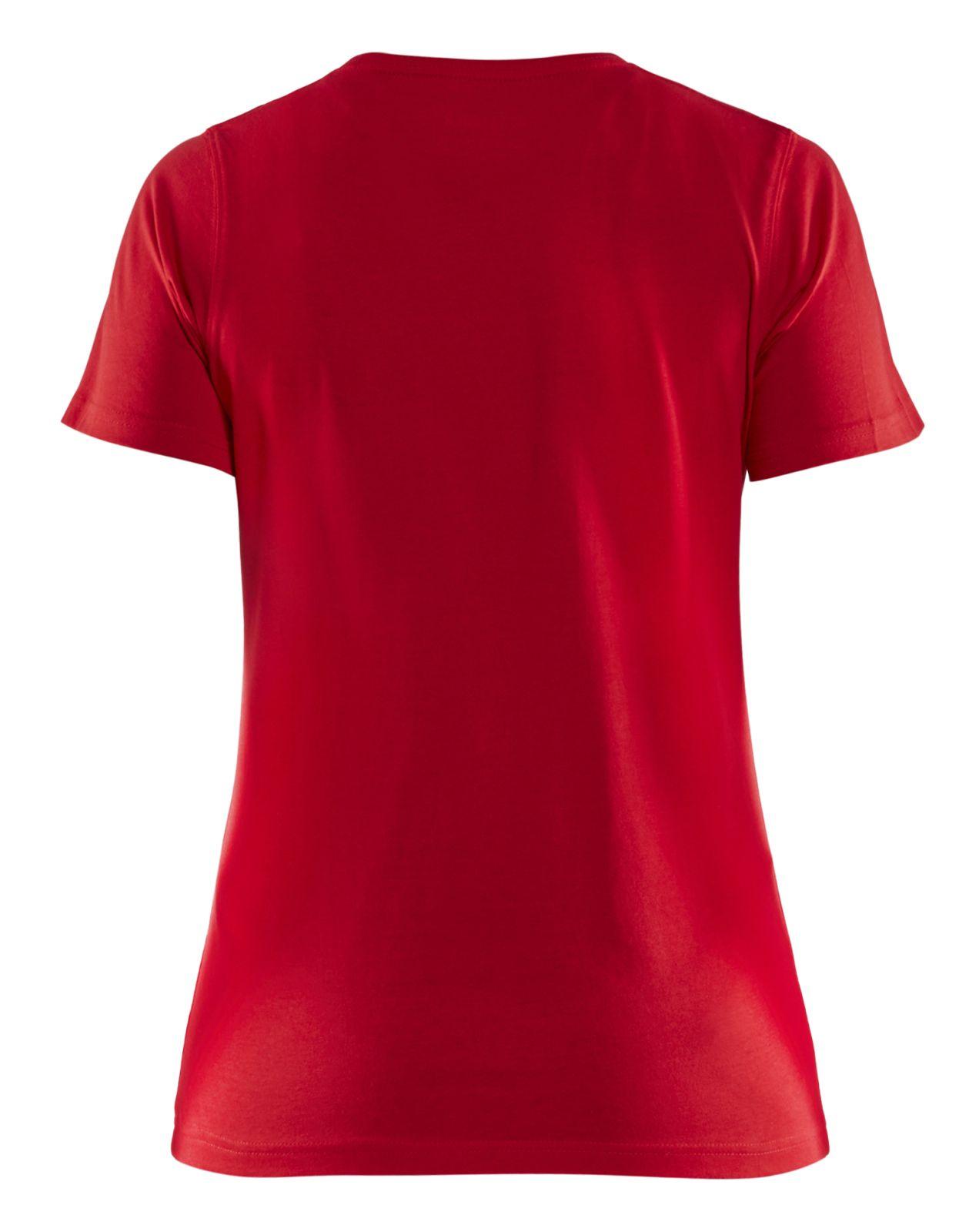 Blaklader Dames T-shirts 33341042 rood(5600)