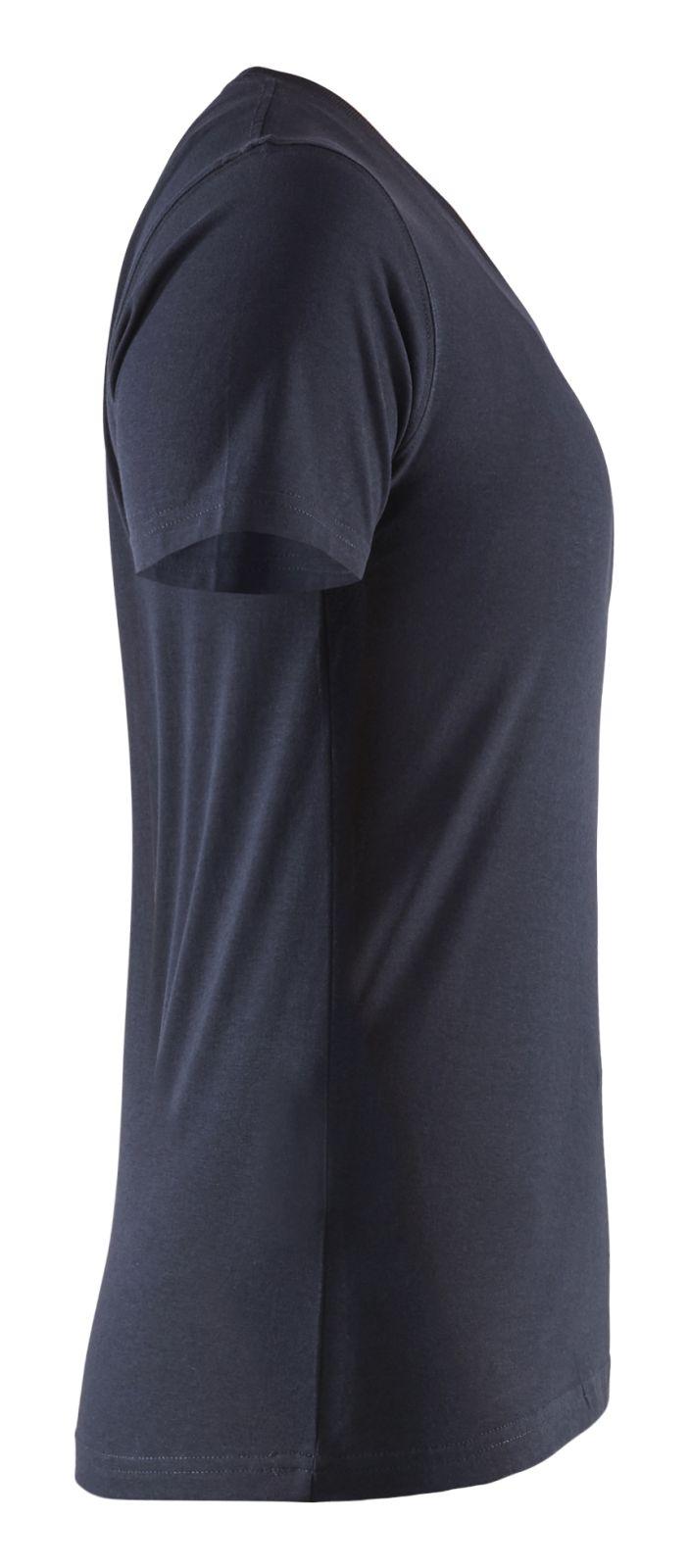 Blaklader Dames T-shirts 33341042 marineblauw(8600)